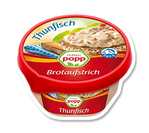 Popp Brotaufstrich Thunfisch 150g
