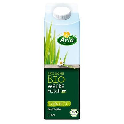 Arla Bio Frische Weidemilch 3,8% 1L
