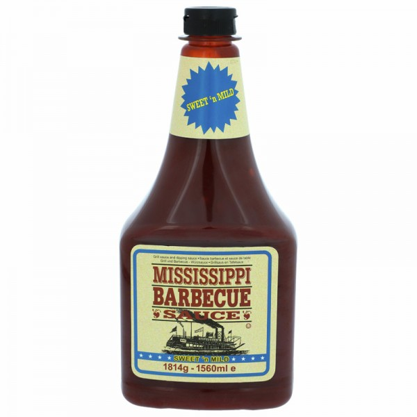 Mississippi BBQ Sauce Sweet and Mild 1560ml
