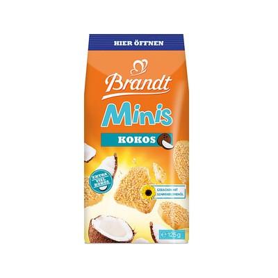 Brandt Minis Kokos, Zwieback, 125g