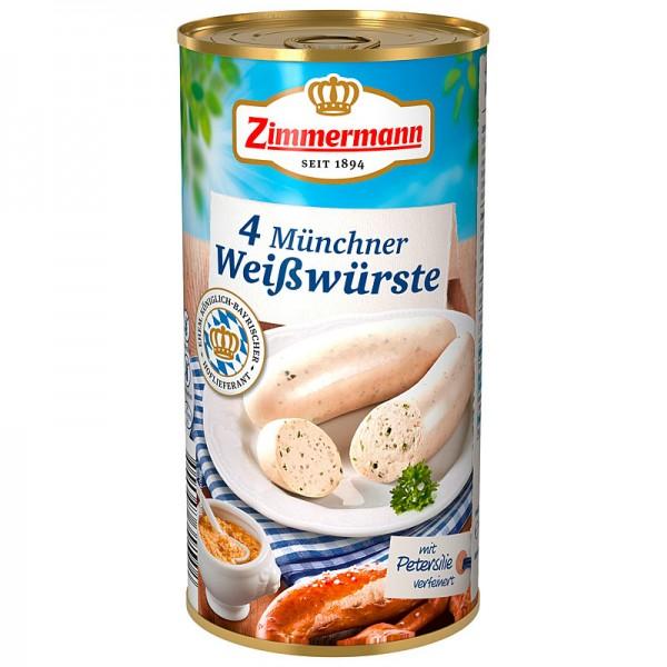 Zimmermann Münchner Weißwürste 250g