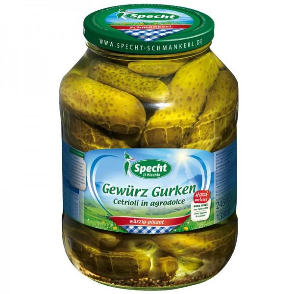 Specht Gewürz-Gurken Cetrioli in agrodolce 2650ml