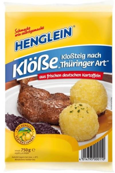 Henglein Kloßteig nach Thüringer Art 750g