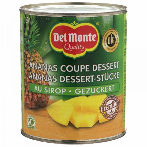 Del Monte Ananas Dessert-Stücke 840g