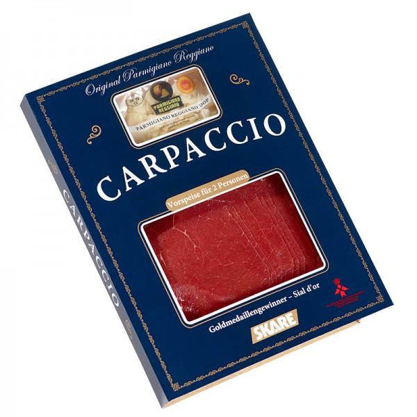 SKARE Carpaccio mit Parmesan und Öl 125g
