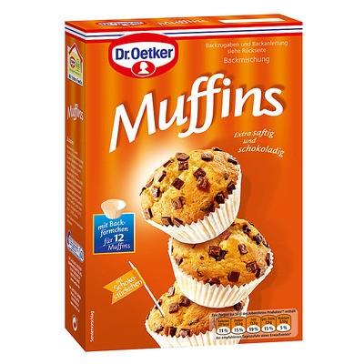 Dr. Oetker Muffins Backmischung 360g