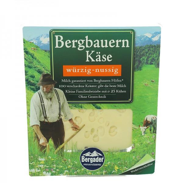 Bergader Käsescheiben, würzig - nussig, 48% 150g