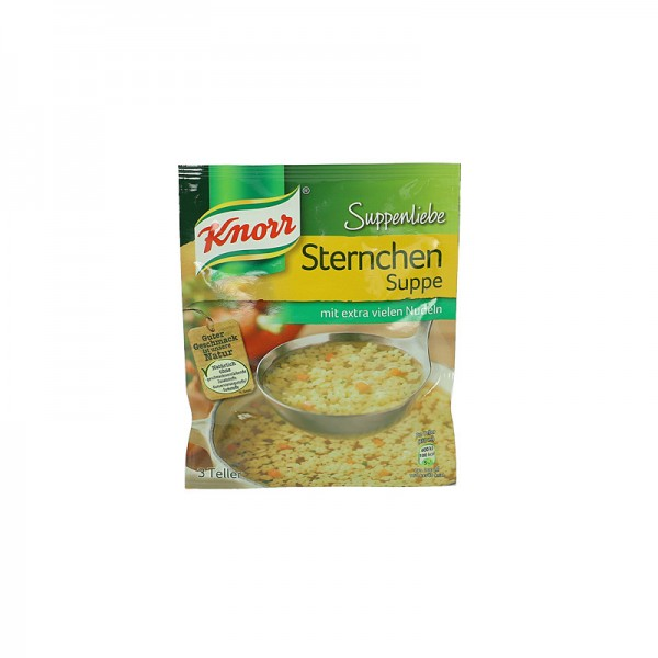 Knorr Sternchen Suppe 750ml