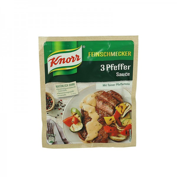 Knorr Feinschmecker 3 Pfeffer Sauce für 250ml