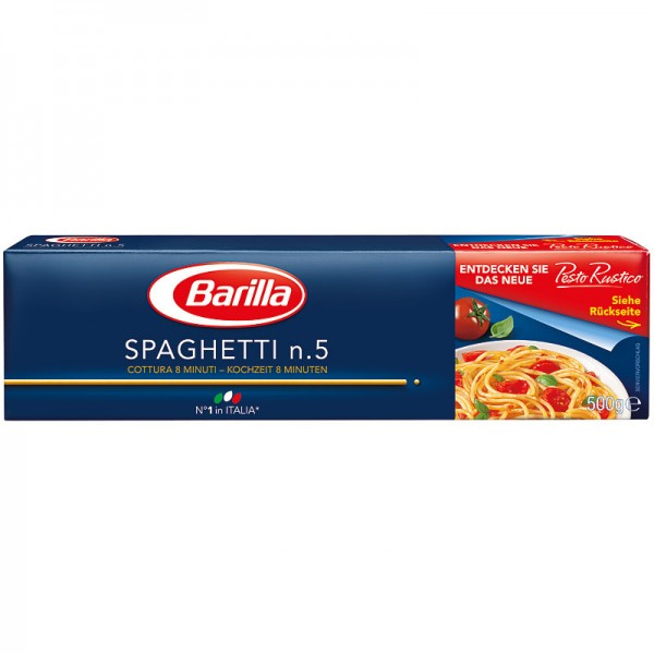 Barilla Spaghetti n.5 500g