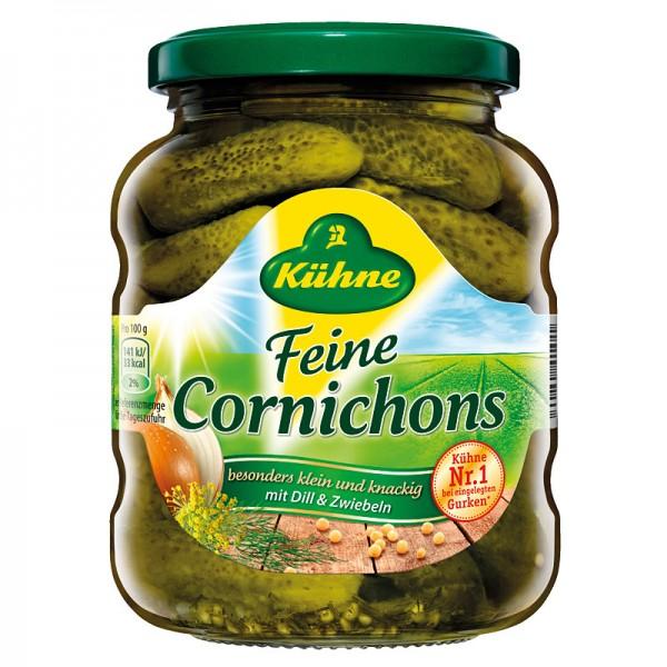Kühne Feine Cornichons 370ml