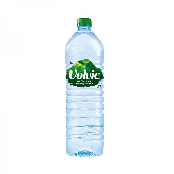 Volvic Mineralwasser Einzelflasche 1,5L PET