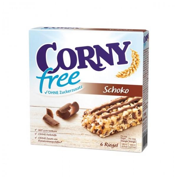 Corny free Nuss-Nougat 6 Riegel á 20g