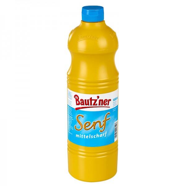 Bautz`ner Senf mittelscharf 1000ml