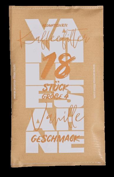 18x Vanille-Sahne Kaffeefilter Größe 4 Weltneuheit!
