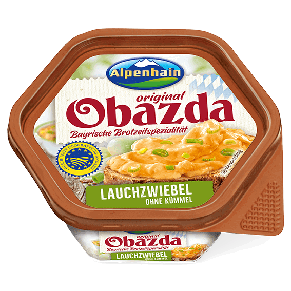 Alpenhain Obazda original Lauchziebel 125g