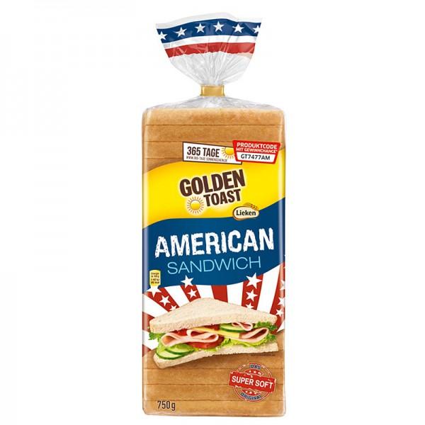 Golden Toast American Sandwichbrot 750g
