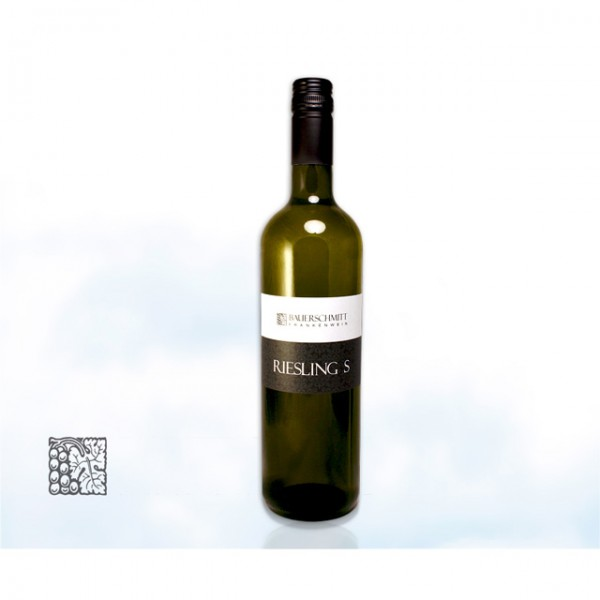 Franken Weingut Bauerschmitt »Riesling S«, Wein trocken aus Franken 0,7L