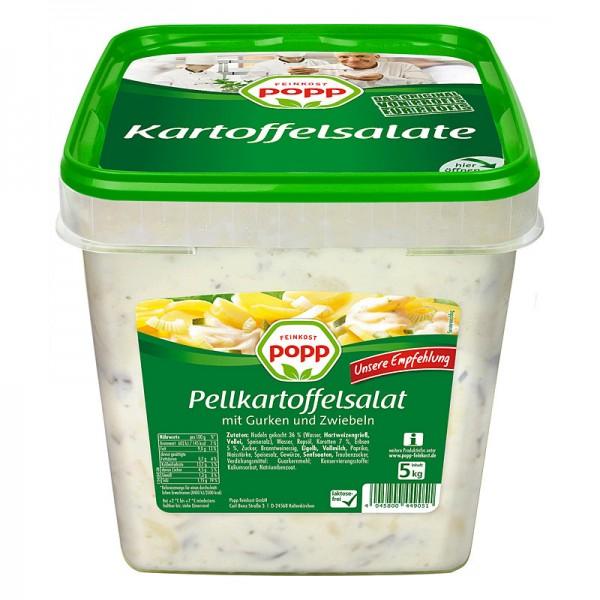 Popp Pellkartoffelsalat mit Gurken und Zwiebeln XXL 5kg