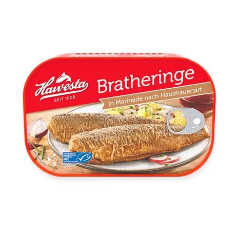 Hawesta MSC Brathheringe in Marinade nach Hausfrauenart 375g