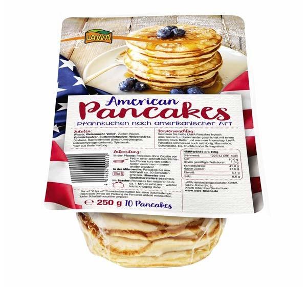 LAWA American Pancakes 10 Stück
