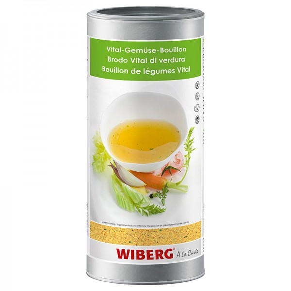 Wiberg Vital-Gemüse-Bouillon 1,2kg