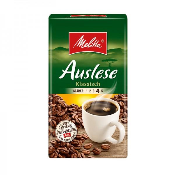 Melitta Café Auslese klassisch gemahlen 500g