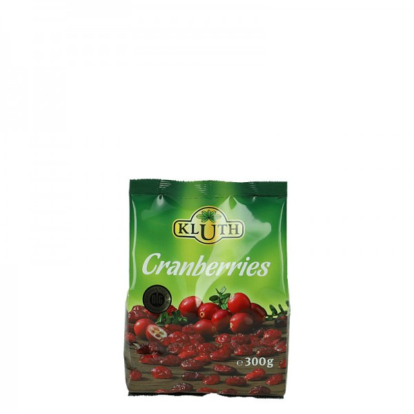 Kluth Cranberries 300g
