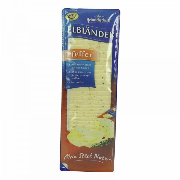 Elbländer Käse Pfeffer in Scheiben 500g