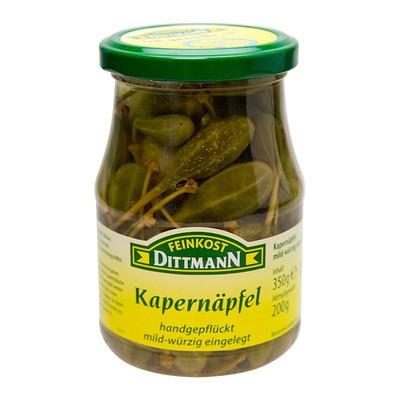 Dittmann Kapernäpfel mild-würzig 370ml