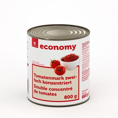 Tomatenmark Zweifach Konzentriert, 800g