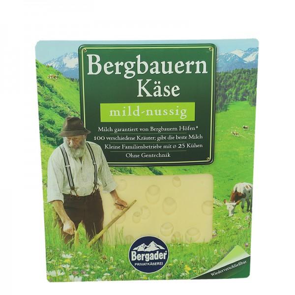 Bergbauern Käsescheiben, mild - nussig, 48% 150g