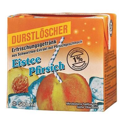 Durstlöscher Eistee Pfirsich 0,5L