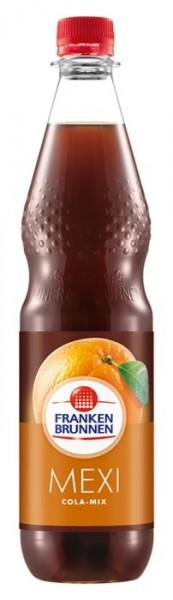 Franken Brunnen Mexi Cola-Mix Limonade Einzelflasche 0,75L PET