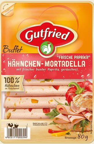Gutfried Hähnchen Mortadella 80g