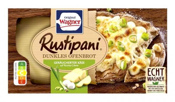 Original Wagner Rustipani Dunkles Ofenbrot Geräucherter Käse