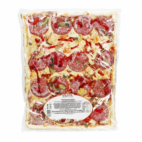 Pizza Lorenzo Familien Pizza Salami 1150g