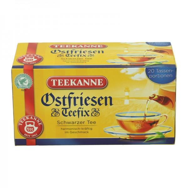 Teekanne Ostfriesen Teefix Schwarzer Tee 20St