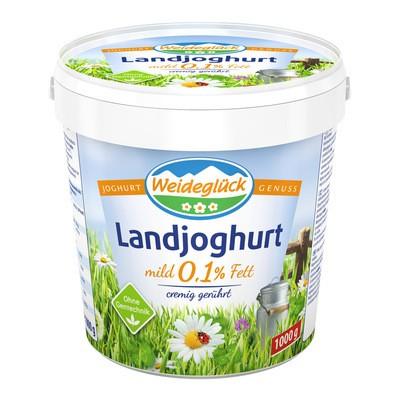 Weideglück Joghurt Natur 0,1% 1kg