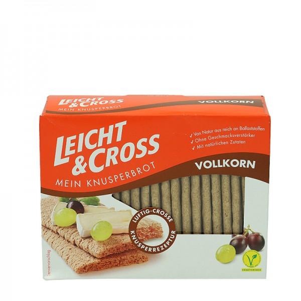 Knusperbrot Leicht & Cross Vollkorn 125g