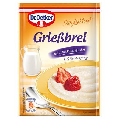 Dr. Oetker Griessbrei Süsse Mahlzeit 92g