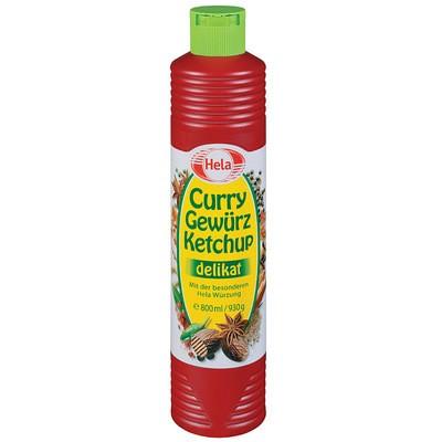 Hela Curry Gewürzketchup delikat 800ml