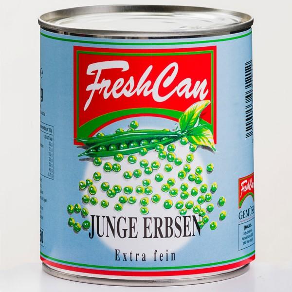 Freshcan Junge Erbsen extra fein 850ml