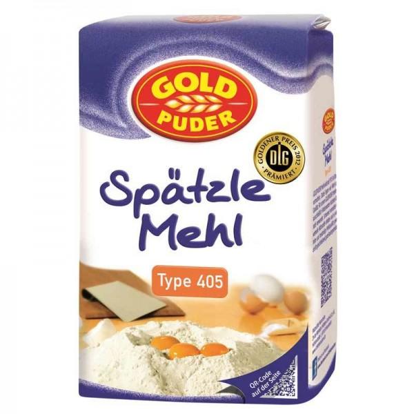 Gold Puder Spätzle Mehl Type 405 1kg