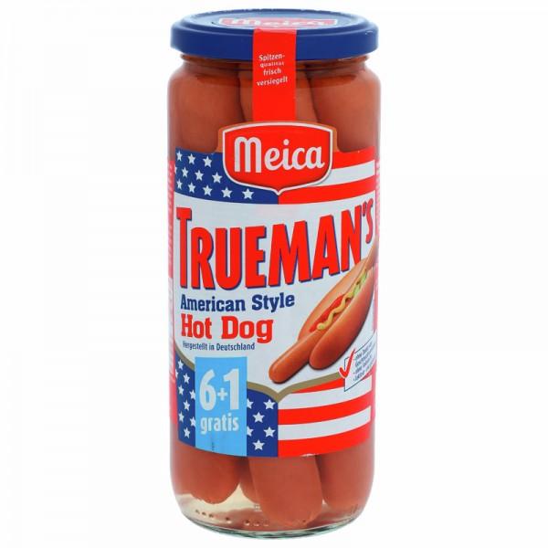 Meica Trueman's American Style Hot Dog 350g