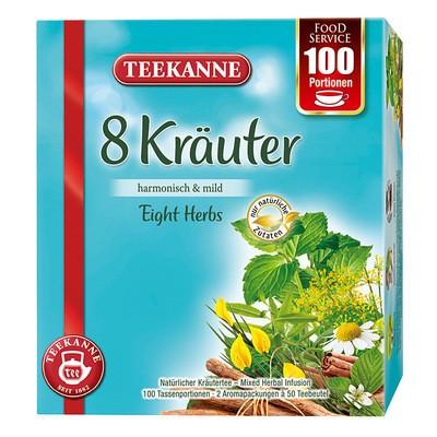 Teekanne 8 Kräuter BigPack 100x1,25g