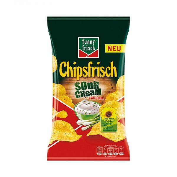 Funny Frisch Chipsfrisch Sour Cream & Wild Onion 175g