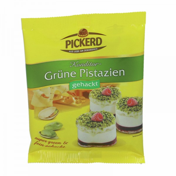 Pickerd Grüne Pistazien gehackt 25g