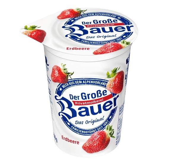Der Große Bauer Erdbeere Joghurt 250g