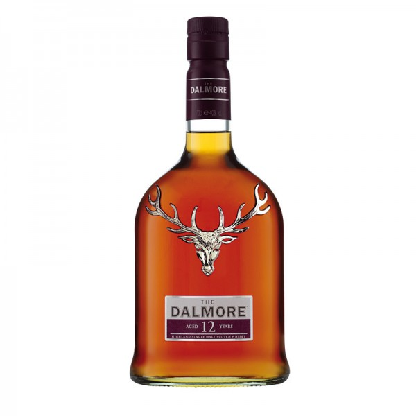 The Dalmore Whisky aged 12 years 40% 0,7L